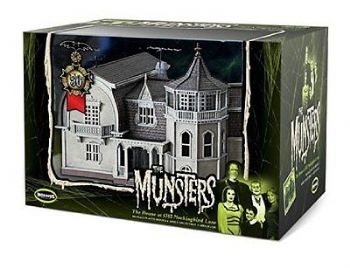 THE MUNSTERS PREFINISHED AND PAINTED DISPLAY MODEL BY MOEBIUS MODELS